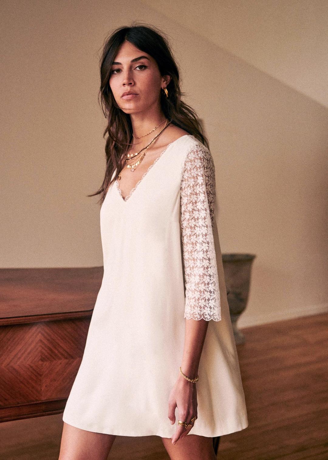 20 Jolies Robes De Mariee Courtes Pour Le Jour J