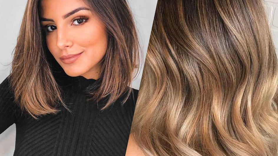 Le ombré hair sur cheveux bruns, ça donne quoi ? 30 inspirations qui vous feront craquer !