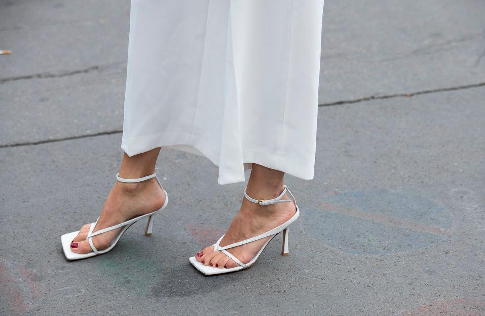 30 paires de naked sandales, la tendance chaussures de l'été