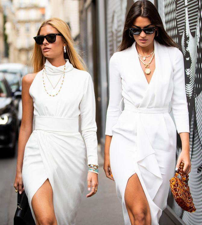 Au printemps, ma petite robe sera blanche