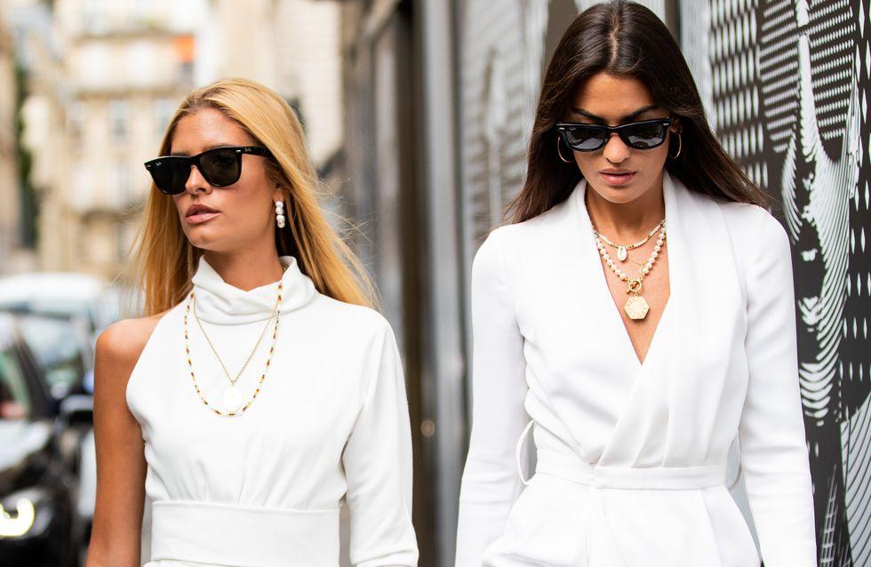 30 petites robes blanches parfaites pour le printemps-été