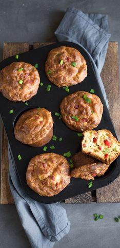 Cakes, muffins, gougères, les gâteaux salés de l'apéro