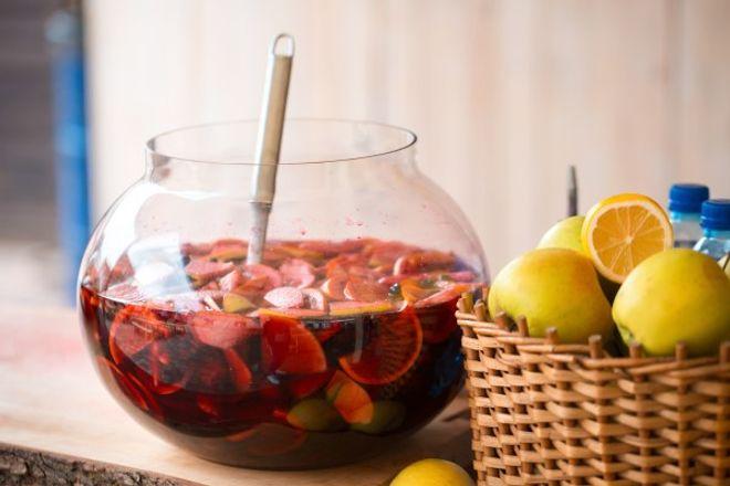 Punch aux fruits sans alcool