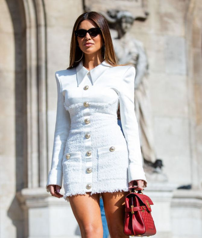 La robe en tweed, un must-have