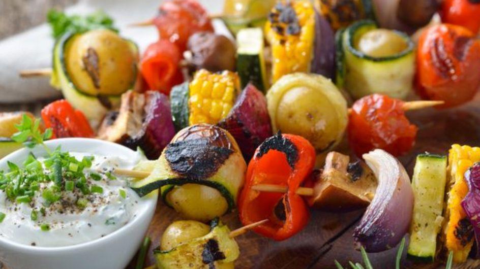 15 idées de recettes pour un barbecue végétarien