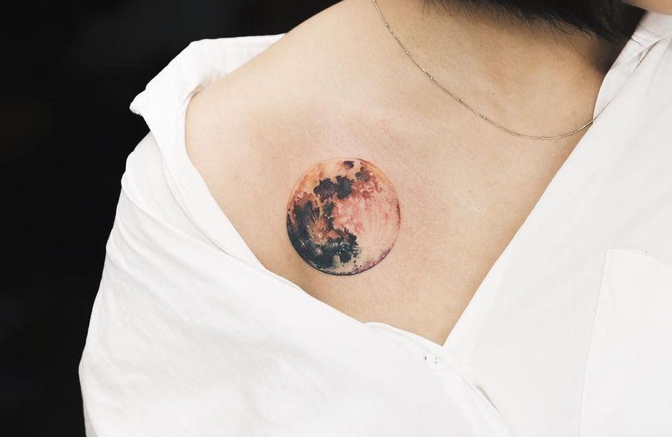 Tatouage lune : 30 photos pour trouver le motif parfait