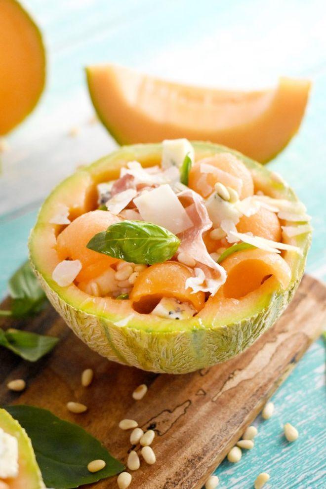 Lundi midi : melon à l'italienne