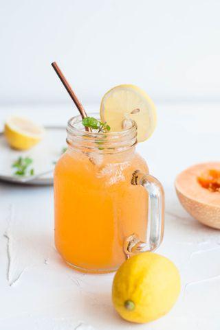 Mocktail melon citron