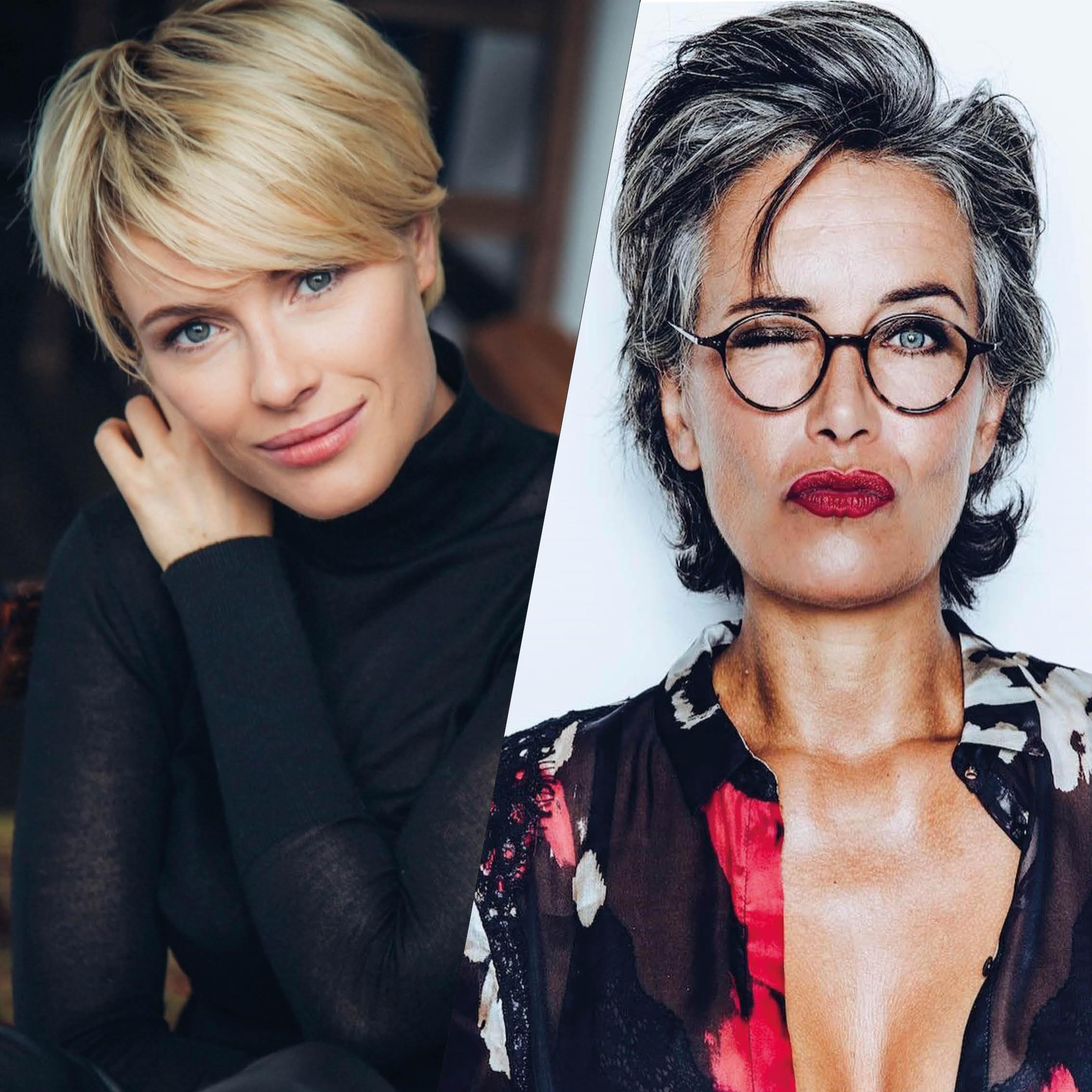 De Sublimes Coiffures Courtes Pour Les Femmes De 50 Et Plus