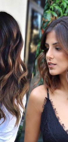 Ces nuances chocolat qui nous font craquer pour cette couleur de cheveux !