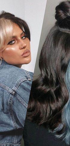 Tendance cheveux bicolores : 30 inspirations avant de se lancer !