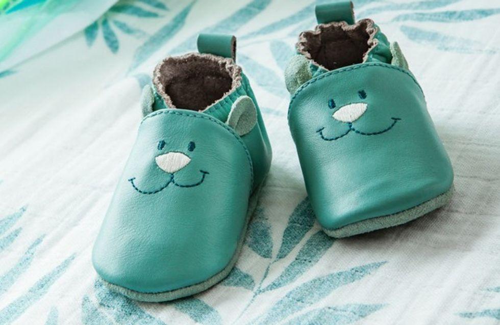 Les chaussons en cuir les plus mignons pour mon bébé