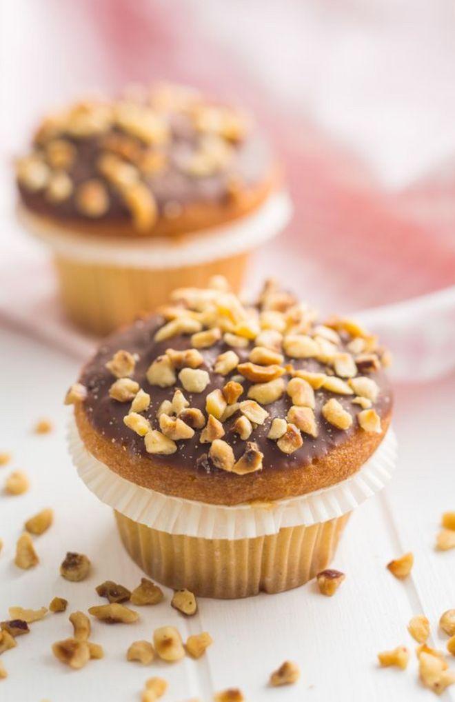 Muffins noisette chocolat
