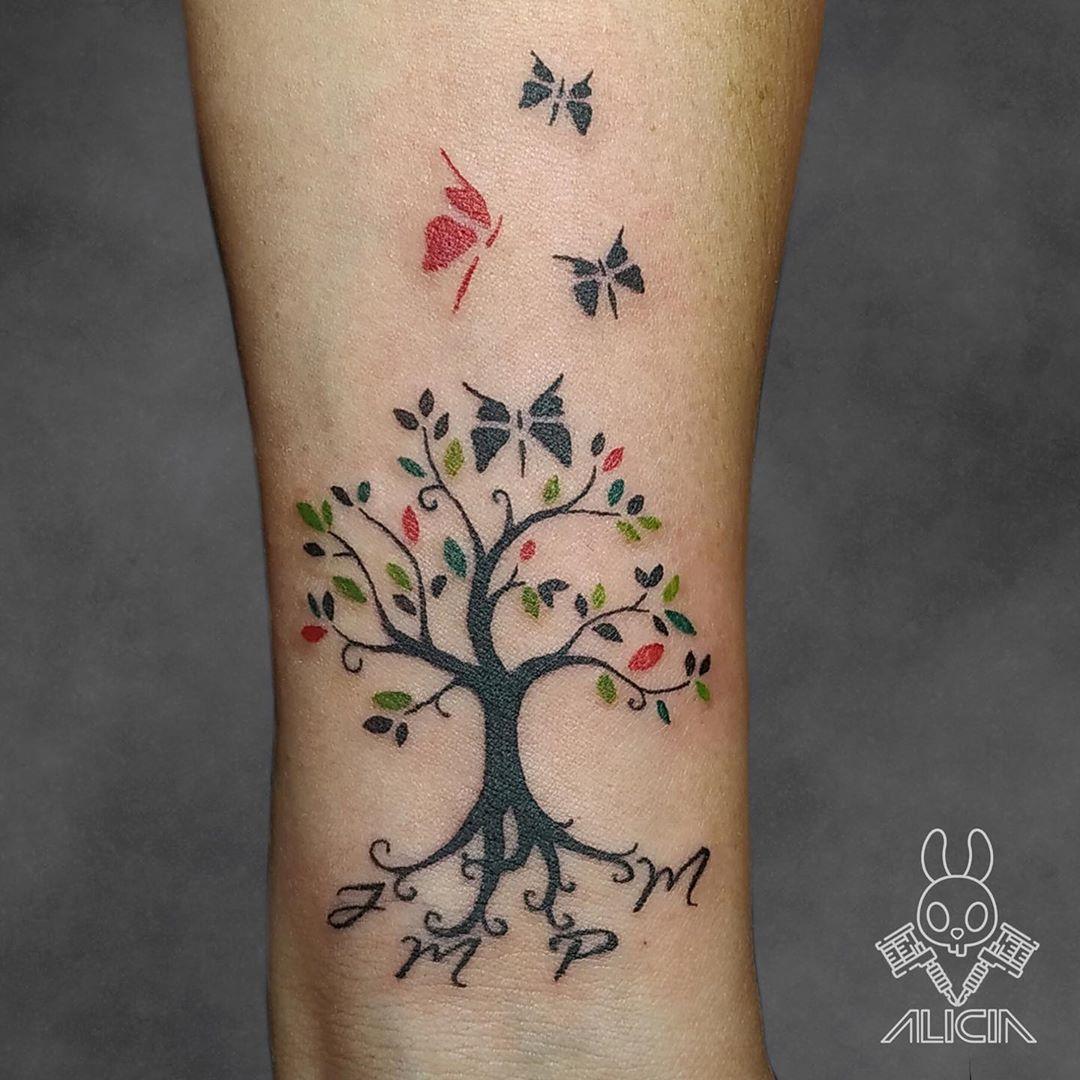 Tatouage Arbre De Vie Significations