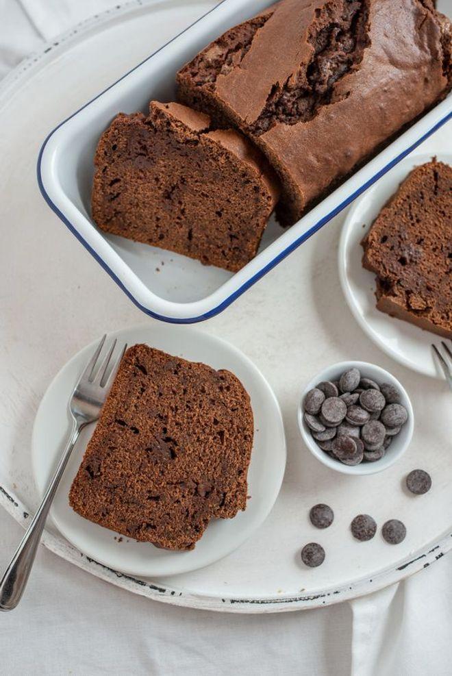 Cake chocolat-banane (vegan)
