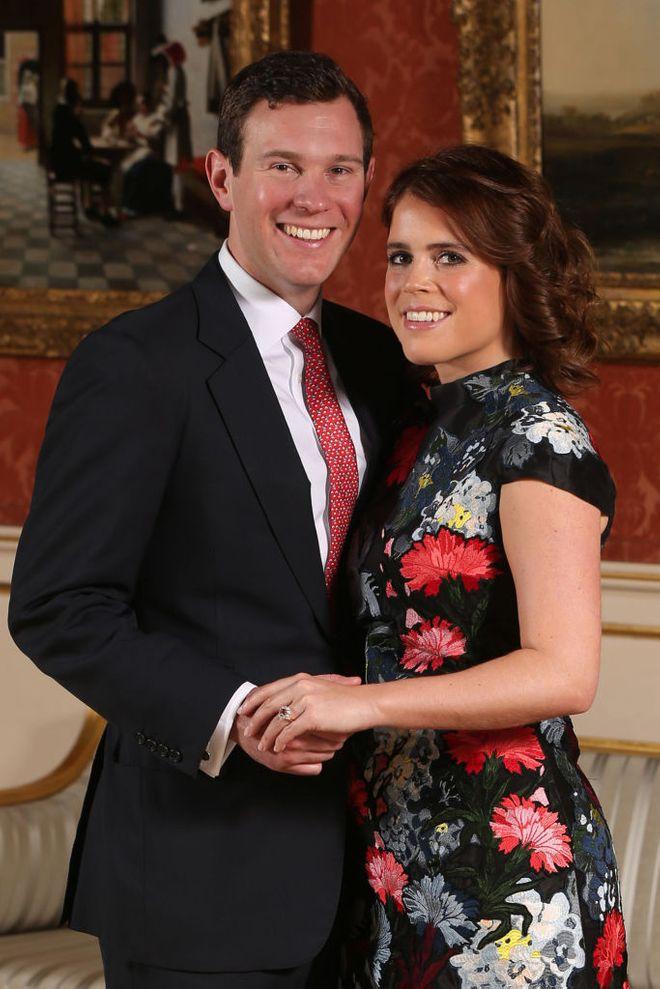 La principessa Eugenia con il marito Jack Brooksbank