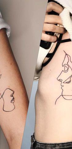 Et si vous succombiez à la tendance du one line tattoo ?