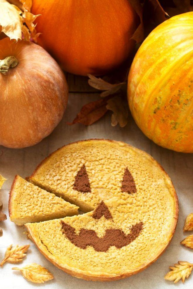 Gâteau d'Halloween à la citrouille
