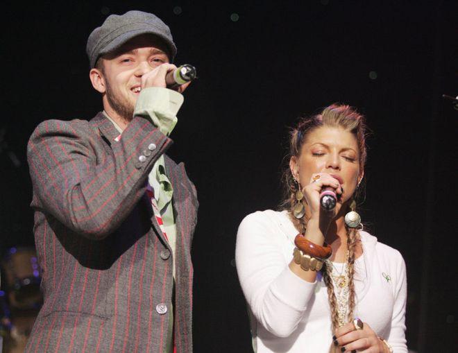 Fergie e Justin Timberlake