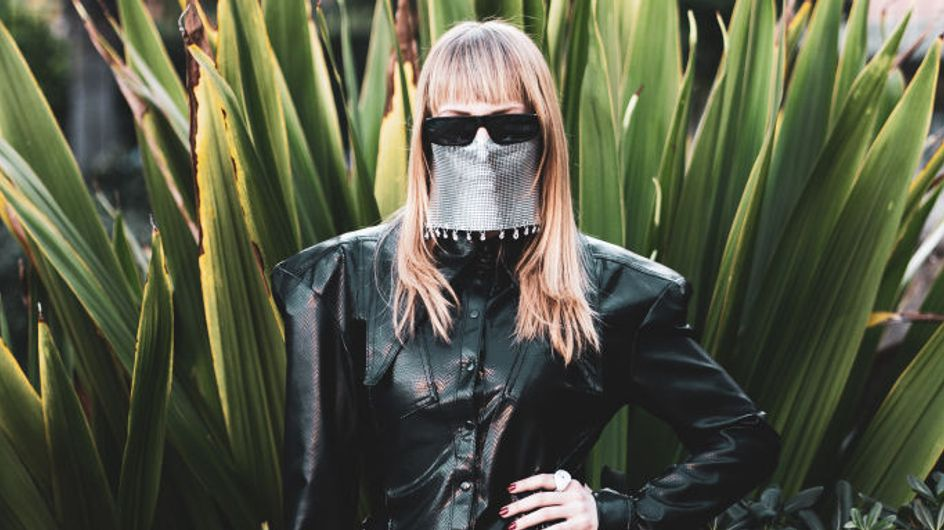 Quando M¥SS KETA era l'unica ad indossare la mascherina