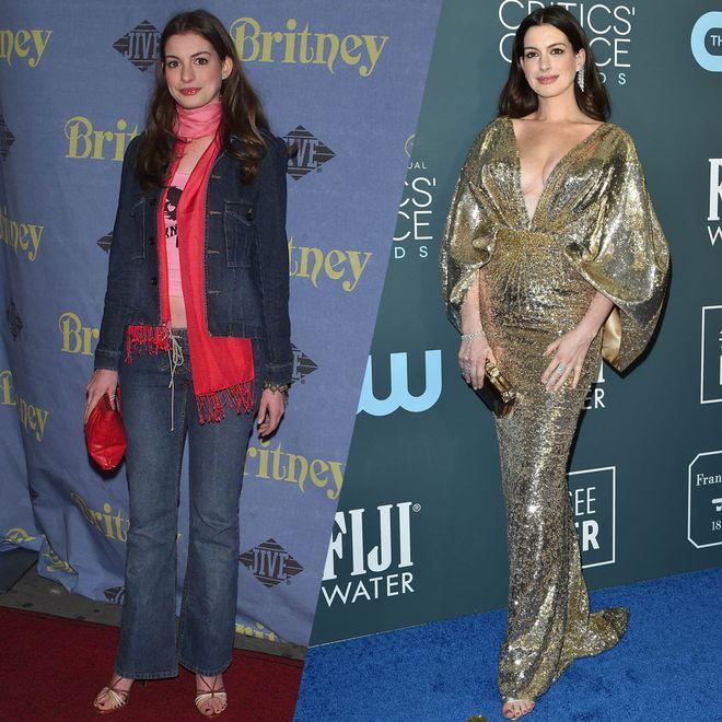 L'évolution mode d'Anne Hathaway