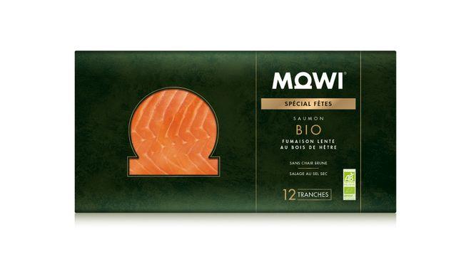 Saumon fumé Bio MOWI