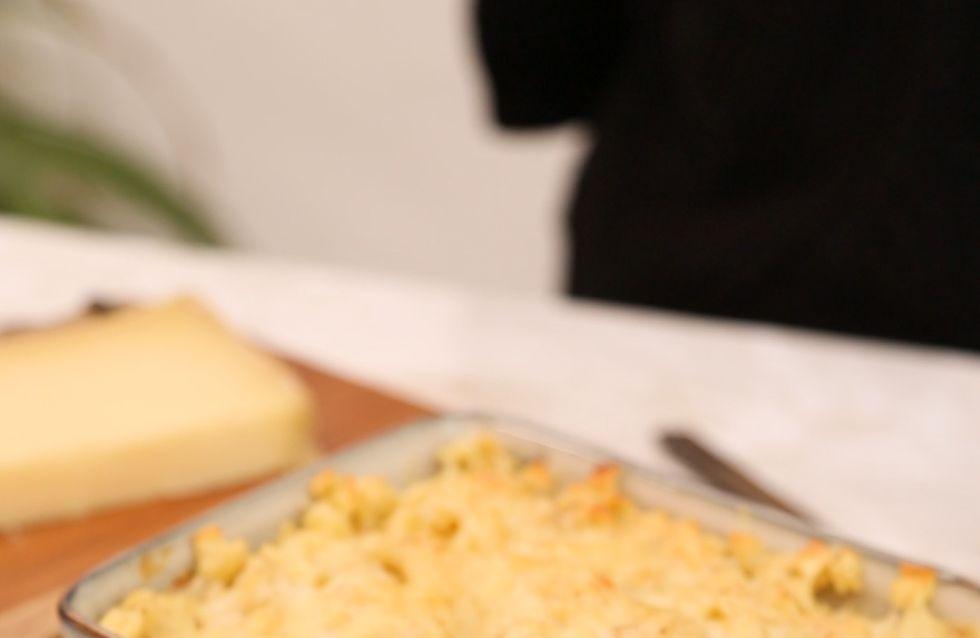 Pas-à-pas : comment réaliser un gratin de crozets savoyard ?
