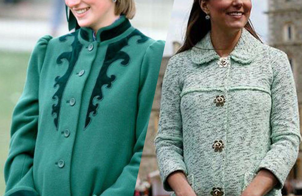 Retour sur les looks de grossesse des femmes de la famille royale britannique