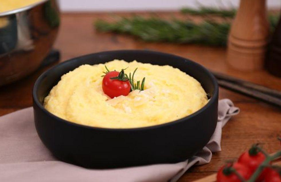 Pas-à-pas : comment obtenir une polenta crémeuse ?