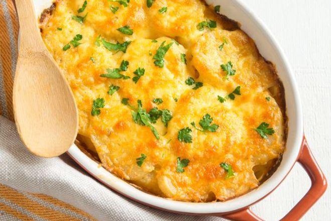 Lundi midi : Gratin de pommes de terre fondant