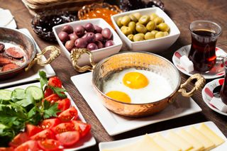Le petit déjeuner turque