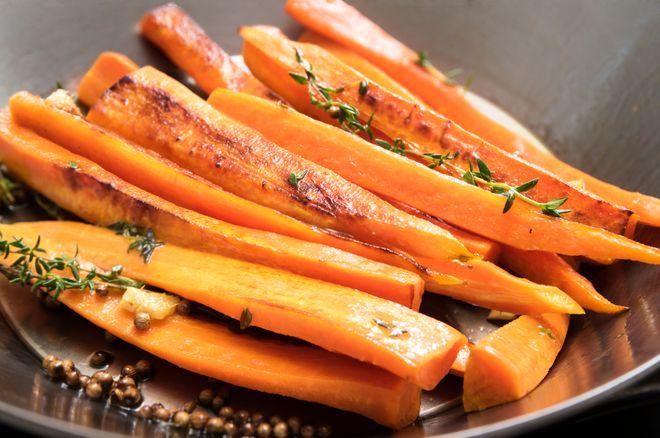 Les recettes à base de carottes