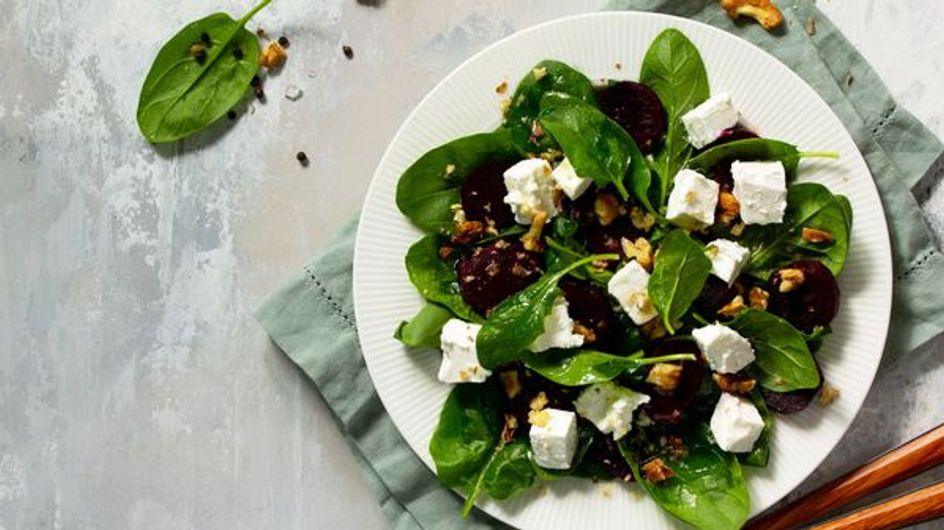 Des salades hivernales