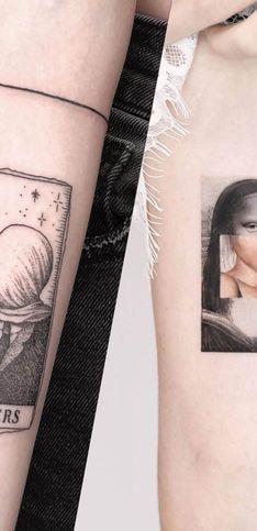 20 splendides tatouages inspirés d'œuvres d'art !