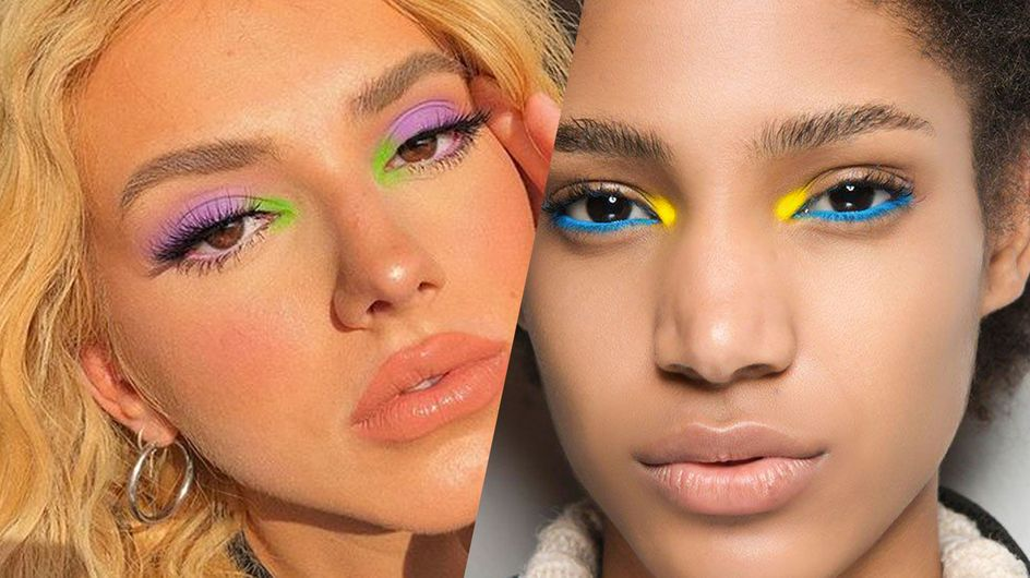 Touche de couleur au coin des yeux : la tendance make-up du moment