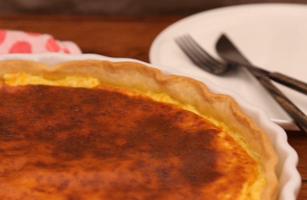 Pas-à-pas : on fond pour la tarte aux fromages