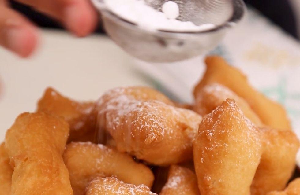 Pas-à-pas : la recette des beignets de carnaval moelleux
