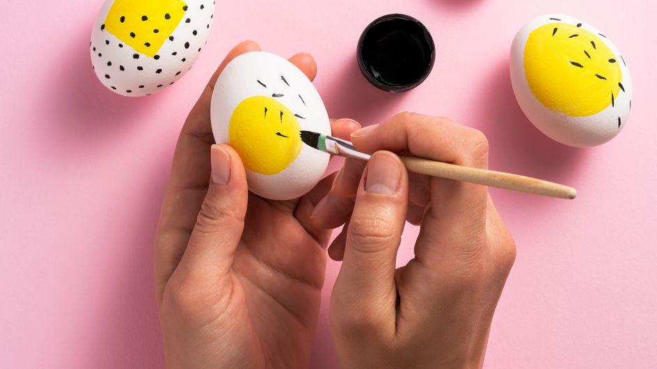 + de 20 idées pour décorer vos oeufs de Pâques et occuper les enfants :)