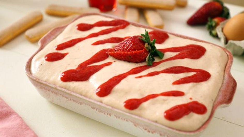 Pas-à-pas : la recette du tiramisu aux fraises