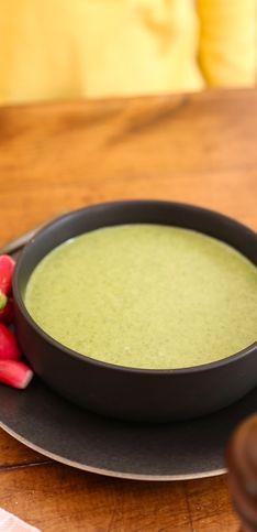 Pas-à-pas : la soupe aux fanes de radis