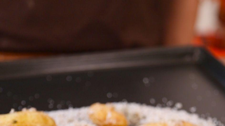 Pas-à-pas : comment cuisiner des petites pommes de terre au sel et aux herbes ?