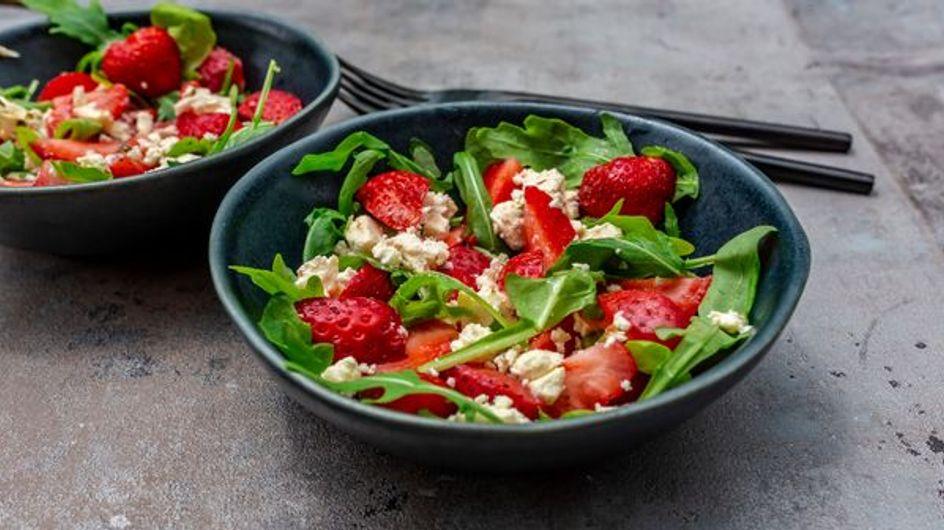 5 recettes pour tester la fraise en version salée
