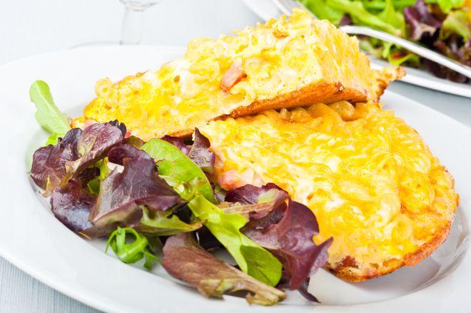 Omelettes aux pâtes