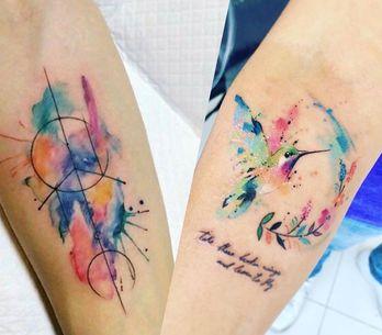 Tatouage aquarelle : nos plus belles idées de tattoo watercolor !