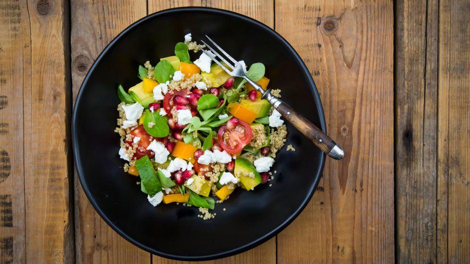5 idées de salades composées avec du quinoa