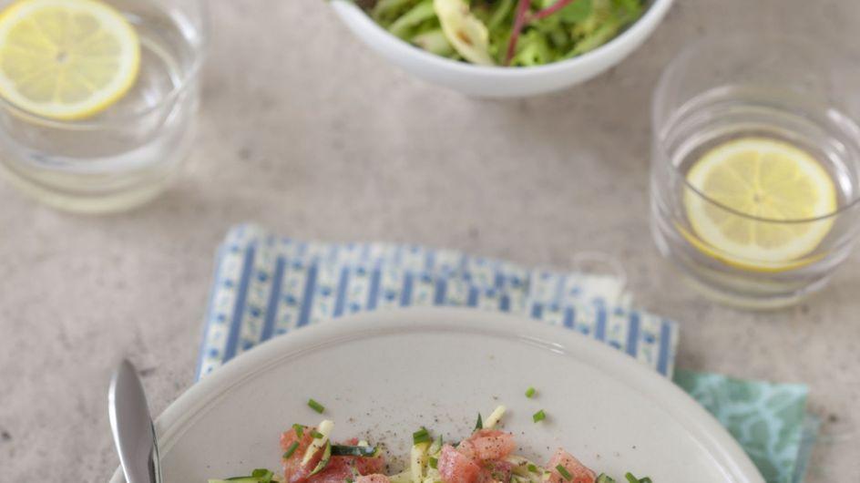 Courgette : 5 idées gourmandes pour la cuisiner crue