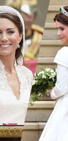 Kate Middleton, Meghan Markle, Charlène de Monaco... les plus jolies coiffures de mariées royales