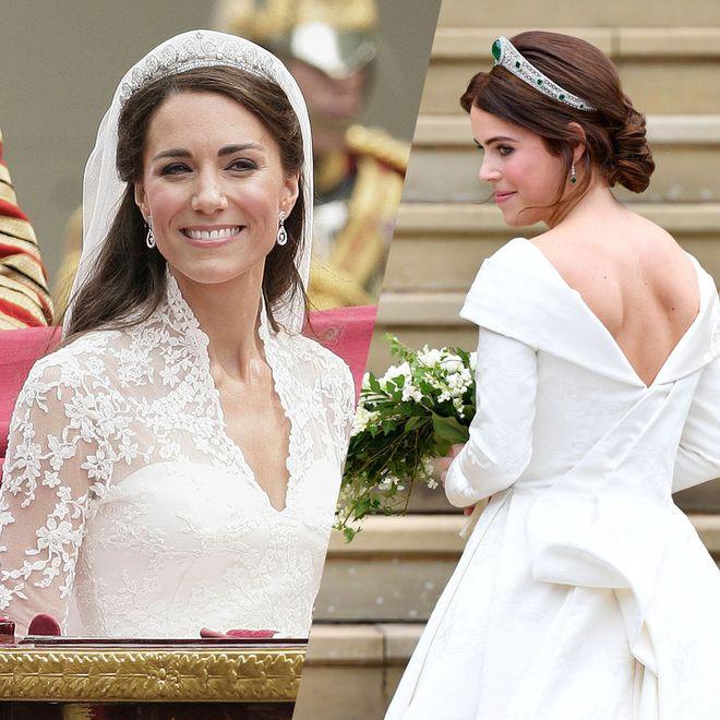 Familles royales : les plus jolies coiffures de mariées