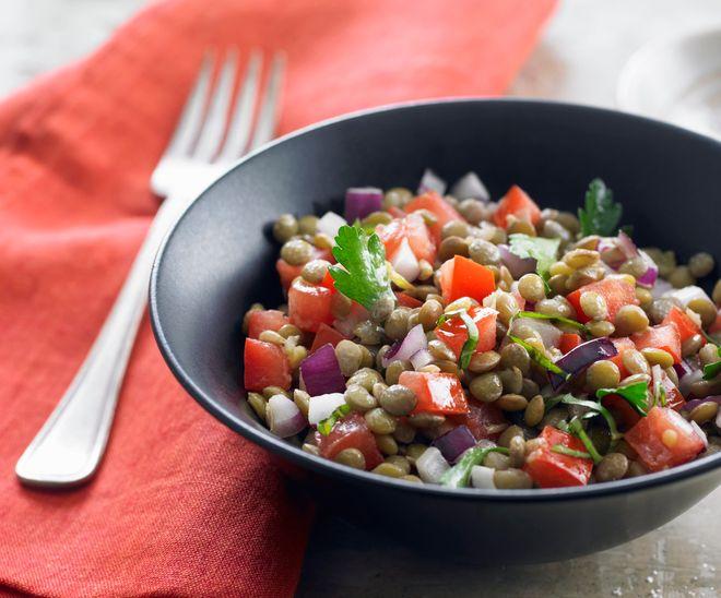 Salade de lentilles pour l'été