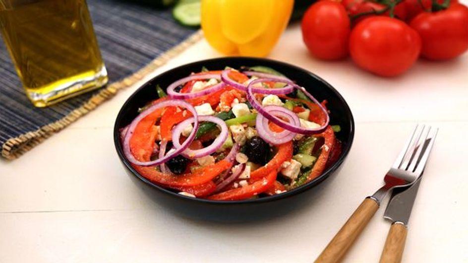 Comment faire une vraie salade grecque ?